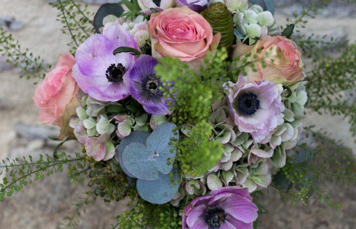 bouquet-de-saison-violet-rose-feuillage