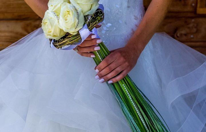 bouquet mariee strass