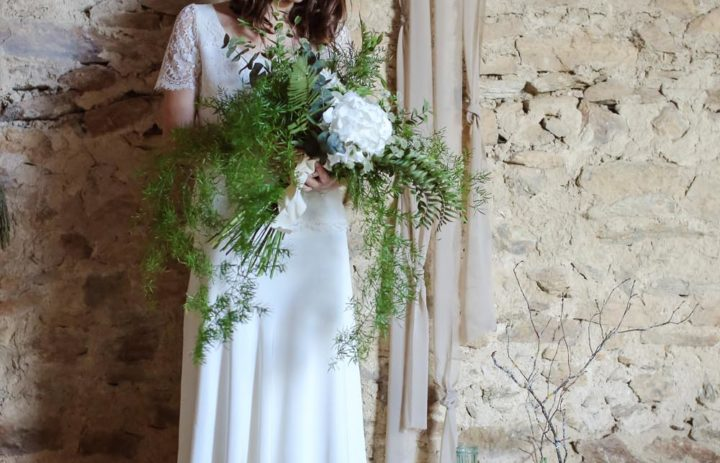 mariee-arche-mariage-inspiration-vegetale