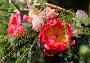 Bouquet de saison été rose