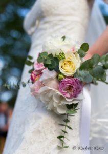 Le bouquet de la mariée romantique