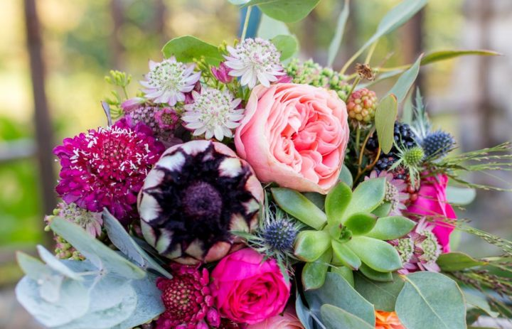 bouquet-mariee-rose-fuschia-rose
