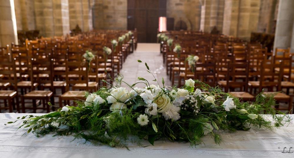 Decoration Mariage Eglise Autel