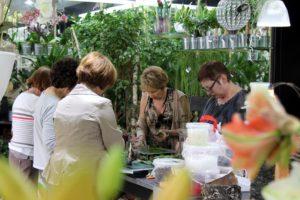 Ateliers d'art floral Participantes